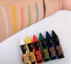 پاستل 6 رنگ نقاشی صورت مینگدا-تصویر 4