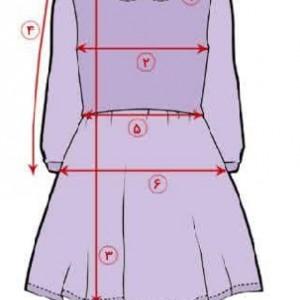 تن کات پیراهن دخترانه-تصویر 4
