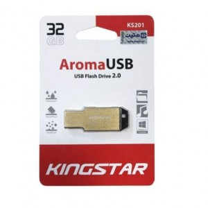 فلش مموری کینگ استار مدل AROMA KS201 ظرفیت 32 گیگابایت