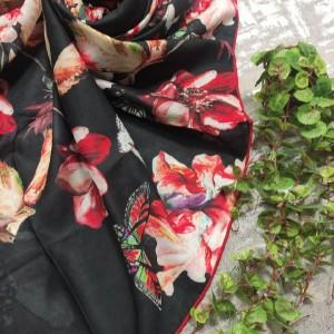 روسری حریر کرپ-تصویر 2