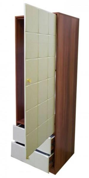 کمد لباس یک درب مربع-تصویر 3