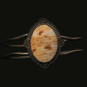 دستبند نگین صدف دریایی اصل ( ارسال رایگان )
