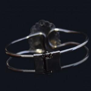دستبند نگین صدف دریایی اصل ( ارسال رایگان )-تصویر 2