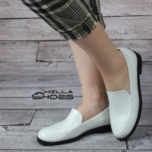 کفش کالج چرم ساده