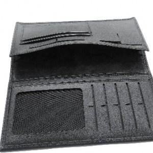 کیف پول و موبایل چرم طبیعی گوساله مردانه طبله دار-تصویر 2