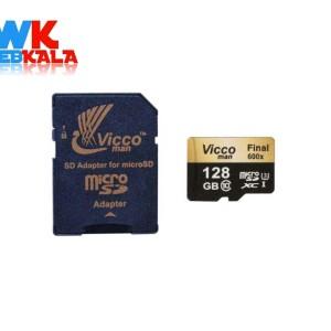 کارت حافظه microSDXC ویکومن مدل Final 600x plus کلاس 10 استاندارد UHS-