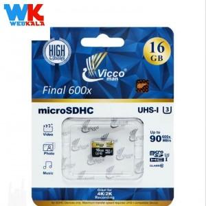 کارت حافظه microSDHC ویکو من مدل Final 600x کلاس 10 استاندارد UHS-I U3-تصویر 2