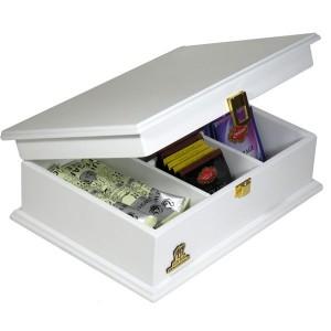 جعبه کادویی جعبه نفیس جعبه هدیه جعبه چوبی کد LB103-تصویر 2