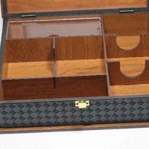 جعبه پذیرایی جعبه آجیل جعبه دمنوش مدل پرنده لوکس باکس کد LB64-تصویر 4