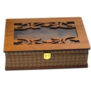 جعبه پذیرایی جعبه آجیل جعبه دمنوش لوکس باکس کد LBL54