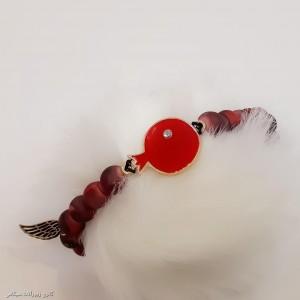 دستبند مهره ای طرح انار-تصویر 3