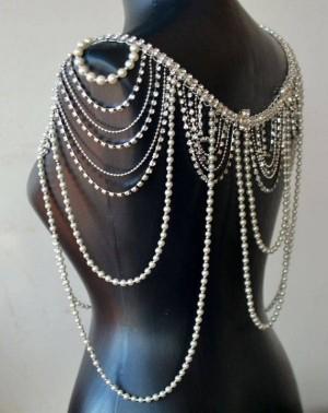 گردنبند در دو رنگ طلایی و نقره ای-تصویر 2