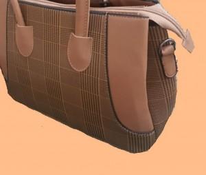 کیف چهارخانه لبه دار-تصویر 5