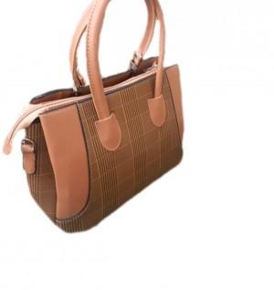کیف چهارخانه لبه دار-تصویر 2