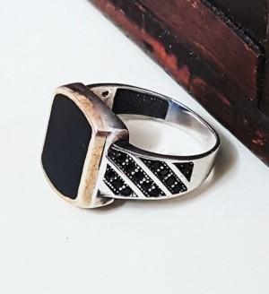 انگشتر اسپرت مردانه سوارسکی