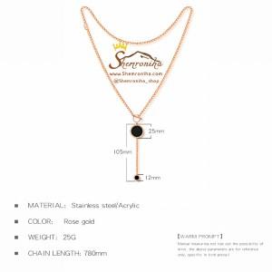 گردنبند رولباسی بولگاری NEC276R0-تصویر 3