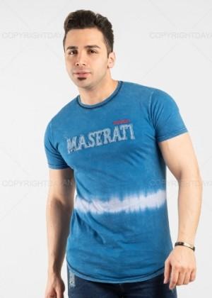 تیشرت مردانه Maserati مدل 13367