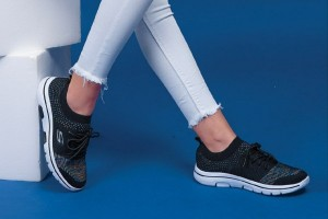 کفش کتانی بافتی لاکچریp-تصویر 2