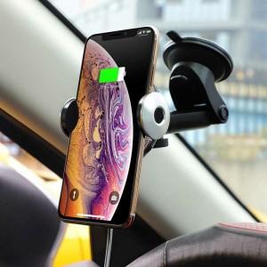 هولدر هوشمند شارژ بی سیم Hoco CA48 گارانتی ۱۲ ماهه-تصویر 5