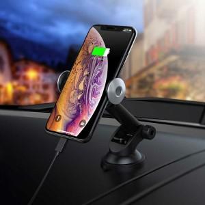 هولدر هوشمند شارژ بی سیم Hoco CA48 گارانتی ۱۲ ماهه-تصویر 2