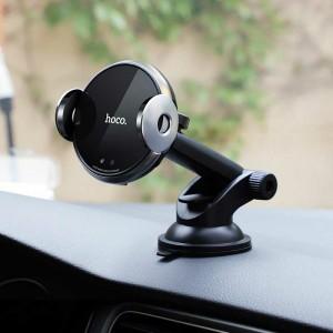 هولدر هوشمند شارژ بی سیم Hoco CA48 گارانتی ۱۲ ماهه-تصویر 3