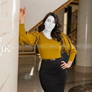 تونیک مجلسی زنانه مدل شوکا-تصویر 4
