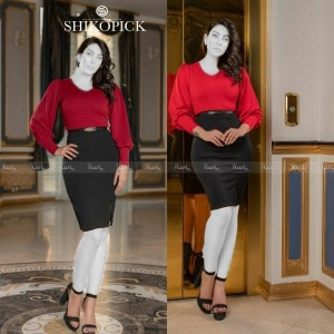 تونیک مجلسی زنانه مدل شوکا-تصویر 5
