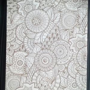 دفتر ۱۰۰ برگ ته چسب جلد گلاسه سلفون شده-تصویر 2