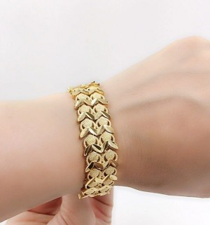 دستبند طرح طلا-تصویر 2