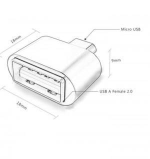 MicroUSB OTG Adapter-تصویر 3