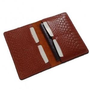 کیف پاسپورت و مدارک چرم طبیعی مدل PS33-تصویر 3