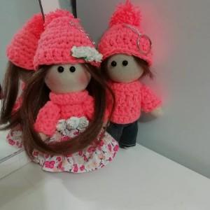 عروسک روسی ست گلبهی-تصویر 2