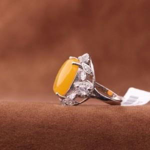 انگشتر عقیق زرد-تصویر 3