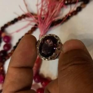 انگشتر مردانه اماتیست-تصویر 2