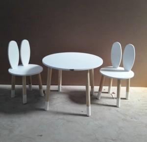 میز وصندلی خرگوشی