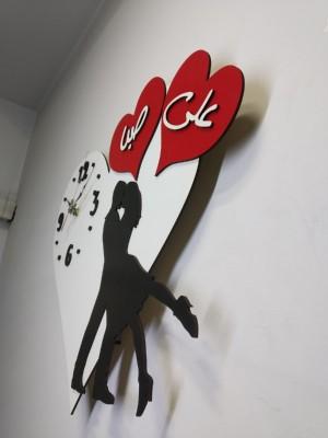ساعت دیواری عاشقانه کد 001-تصویر 3