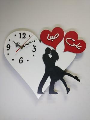 ساعت دیواری عاشقانه کد 001