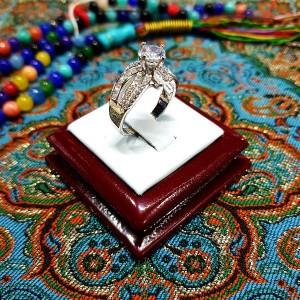 انگشتر سولیتر زنانه 3 باشناسنامه-تصویر 3