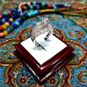 انگشتر سولیتر زنانه 8 باشناسنامه-تصویر 3
