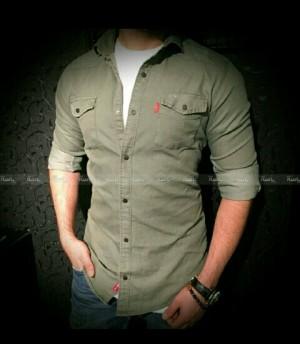 پیراهن استین بلندکتان