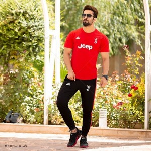 ست تیشرت و شلوار مردانه Juventus مدل 10149