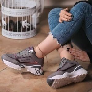 کفش کتانی برند دخترانه-تصویر 3