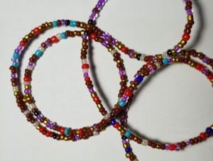 بند عینک رنگی منجوقی