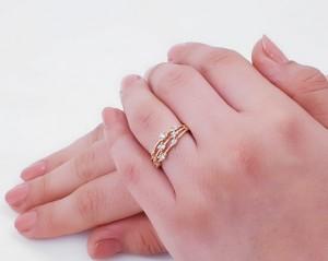 انگشتر ظریف و زیبای ژوپینگ-تصویر 2