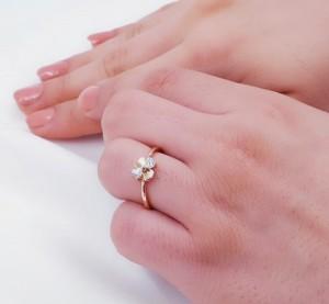 انگشتر ظریف و زیبای ژوپینگ