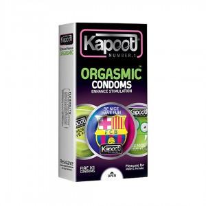 کاندوم ارگاسم کاپوت مدل بارسلونا 12 عددی Kapoot Orgasmic