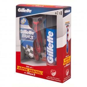 تیغ اصلاح 6 عددی 3 لبه Gillette Blue 3