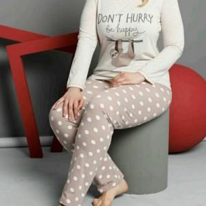 بلوز شلوار زنانه سایزبزرگ برند ترکیه-تصویر 2