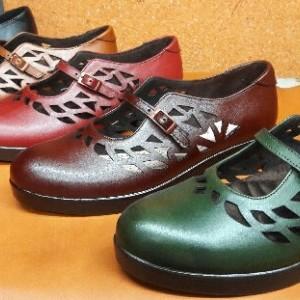 کفش چرم زنانه-تصویر 2