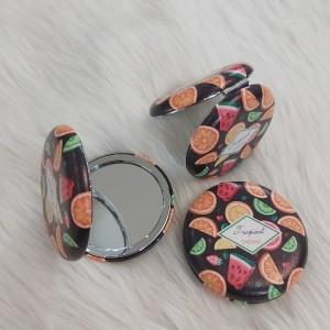 آینه جیبی مدل آینه جیبی گرد پفکی طرح میوهجات کد P-تصویر 3